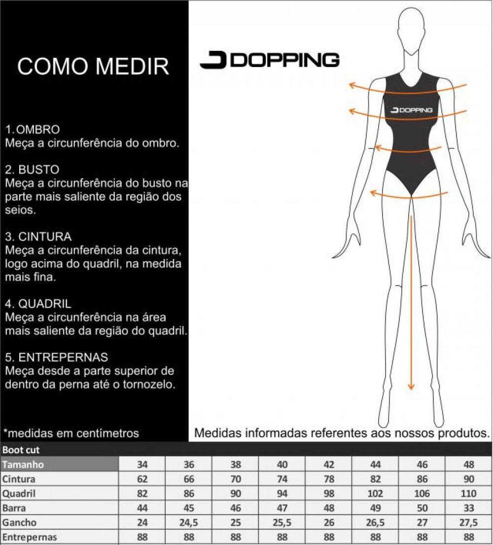 CALCA FEM DOPPING FLARE