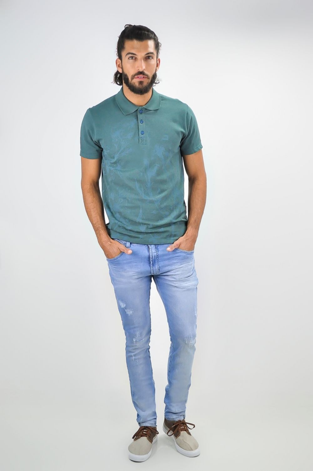 POLO MASCULINA DOPPING